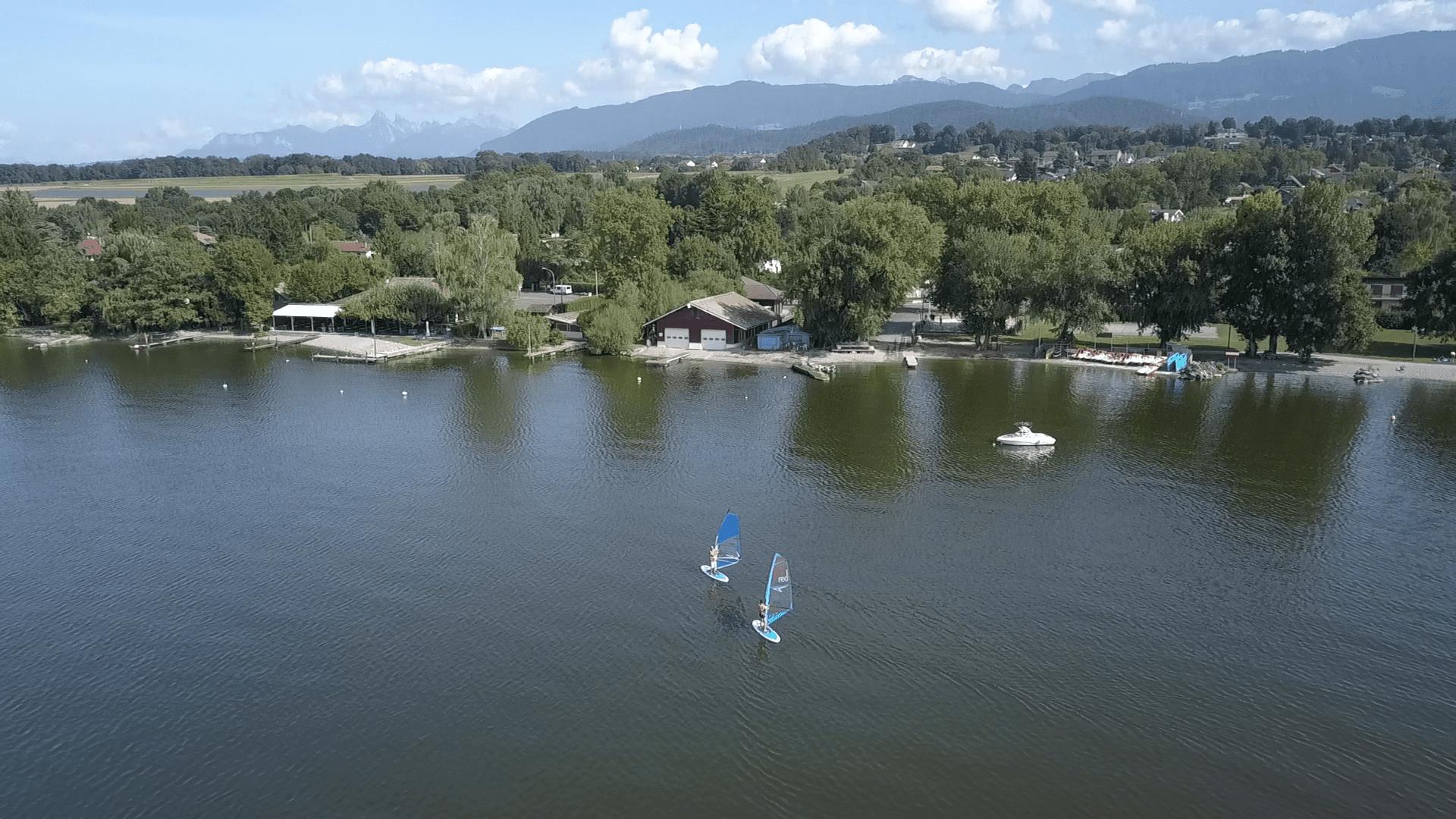 Lac Léman - France - Aqua Léman Nautique - SUP windsurf wakeboard